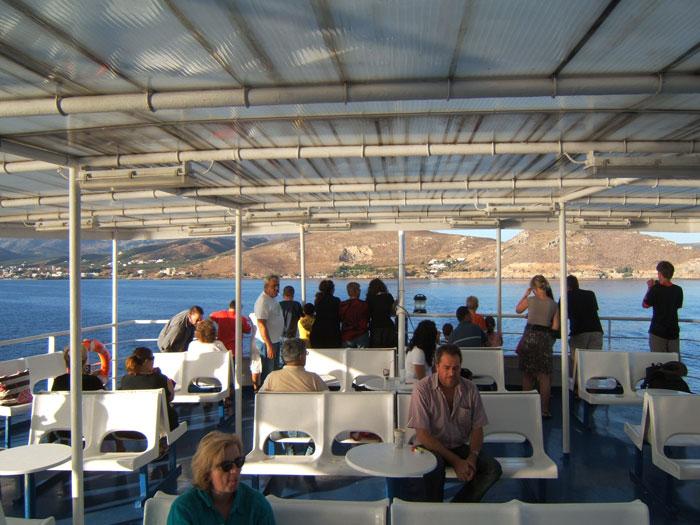 kythera-ferry-people