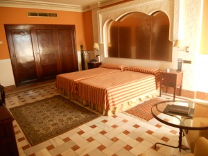 A double room - Hotel Alhambra Palace, Granada, Andalucia, Spain