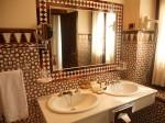 Splendid tiling in Hotel Alhambra Palace bathrooms