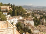 Bar terrace and room with a view - Spain, Granada, Hotel Alhambra Palace