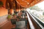 Hotel Alhambra Plalace - bar terrace