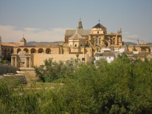 The approach to Cordoba