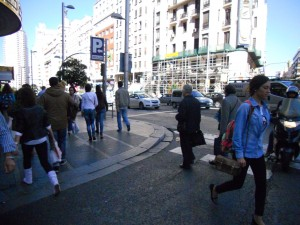 They also walk in Madrid