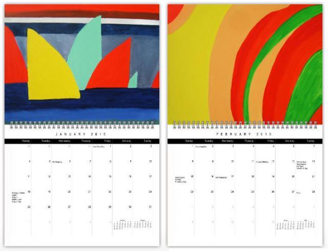 Roger Art Calendar 2010